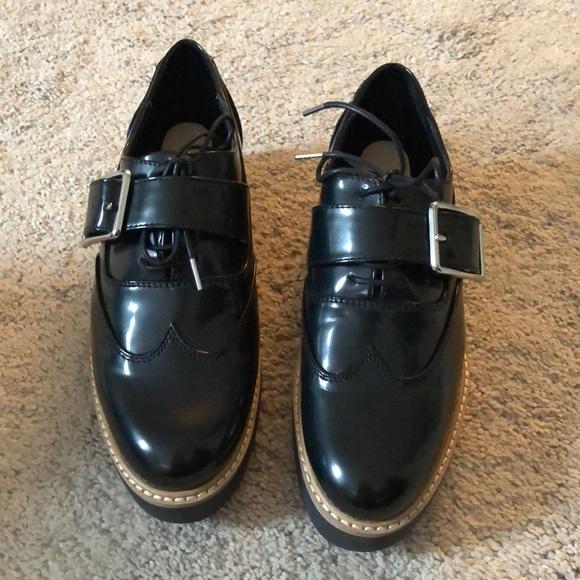 924ebd66028 Zara Brand New Oxford Platform Loafers. M 5a81d02dcaab44822037c38d